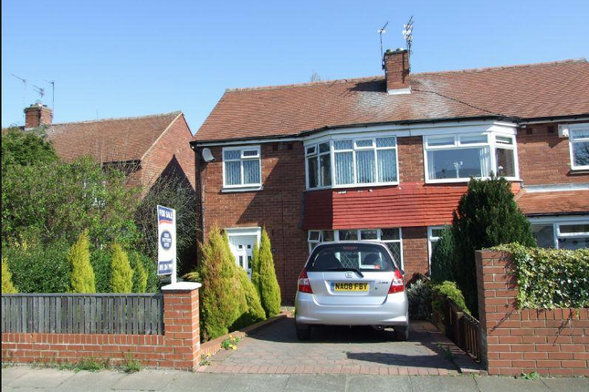 Thumbnail Semi-detached house to rent in Jubilee Road, Gosforth, Gosforth, Northumberland