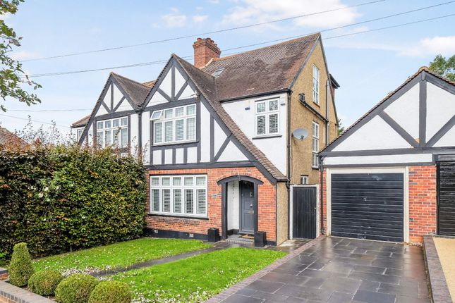 Thumbnail 4 bed semi-detached house for sale in Petts Wood Road, Petts Wood, Orpington