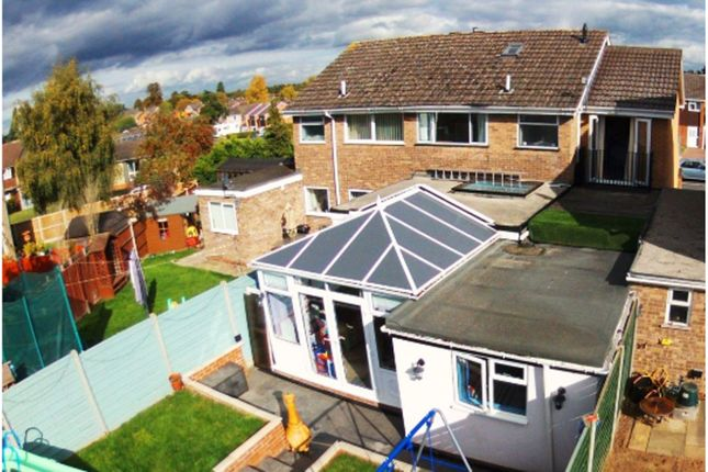 Thumbnail Semi-detached house for sale in Abberley Avenue, Areley Common, Stourport-On-Severn