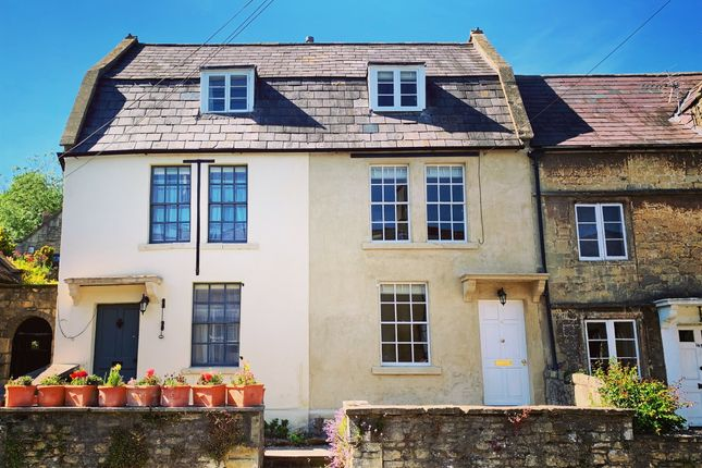 Thumbnail Terraced house for sale in High Street, Batheaston, Bath