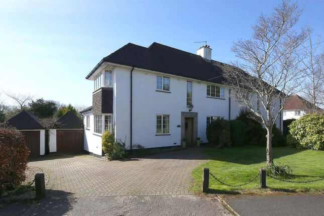Thumbnail Semi-detached house for sale in The Rise, Llanishen, Cardiff