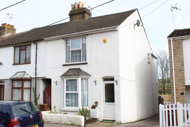 Thumbnail End terrace house for sale in Essex Road, Halling