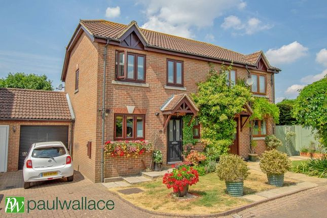 Thumbnail Semi Detached House For Sale In Green Close Epping Green Epping