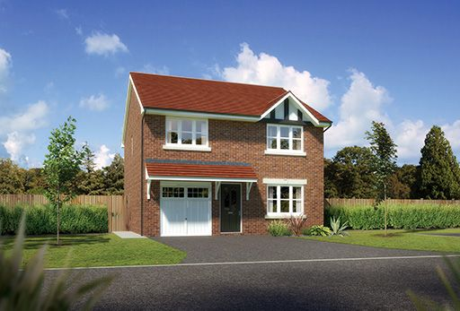 "Thumbnail Detached house for sale in ""Denewood"" At Sherbourne Avenue, Chester CH4, Chester,"