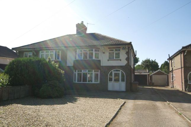 Thumbnail Semi-detached house for sale in Plumstead Road East, Thorpe St Andrew, Norwich
