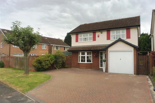 Thumbnail Detached house to rent in Farnborough Drive, Monkspath, Shirley