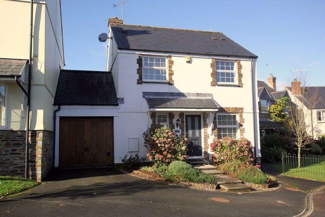 Thumbnail Detached house for sale in Clann Meadows, Lanivet, Bodmin