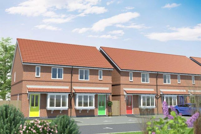 Thumbnail Semi-detached house for sale in Plot 10 & 11 Marfleet Sidings, Marfleet Avenue, Hull