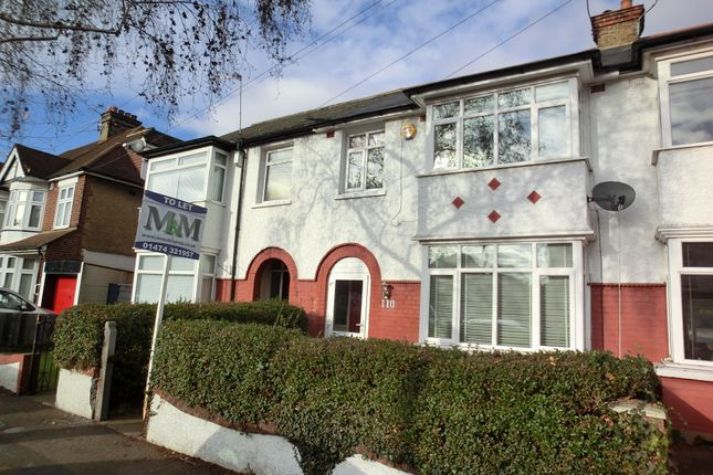 Thumbnail Terraced house to rent in Portland Avenue, Gravesend