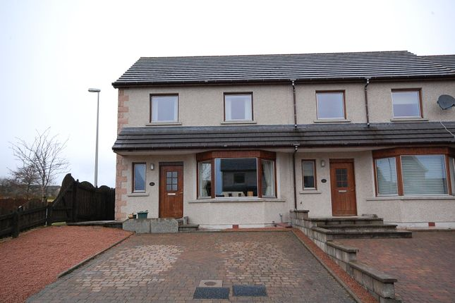 Thumbnail End terrace house to rent in Westburn Square, Inverurie