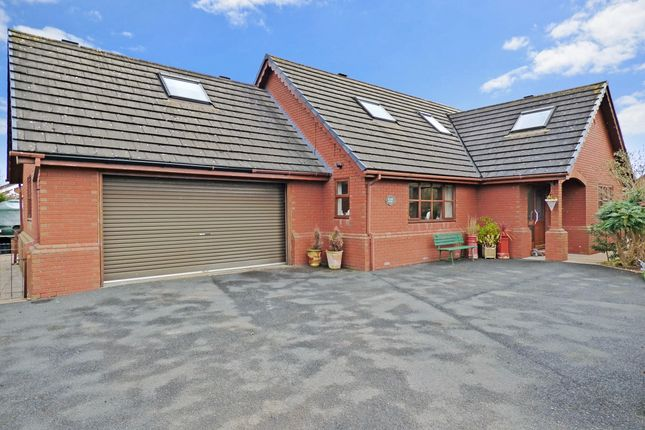 Thumbnail Detached house for sale in Cockshutt, Ellesmere, Shropshire