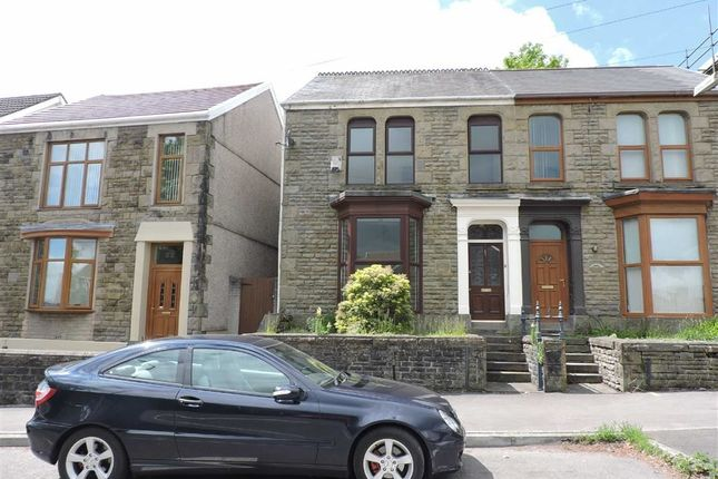 Thumbnail Semi-detached house for sale in Pentrepoeth Road, Morriston, Swansea