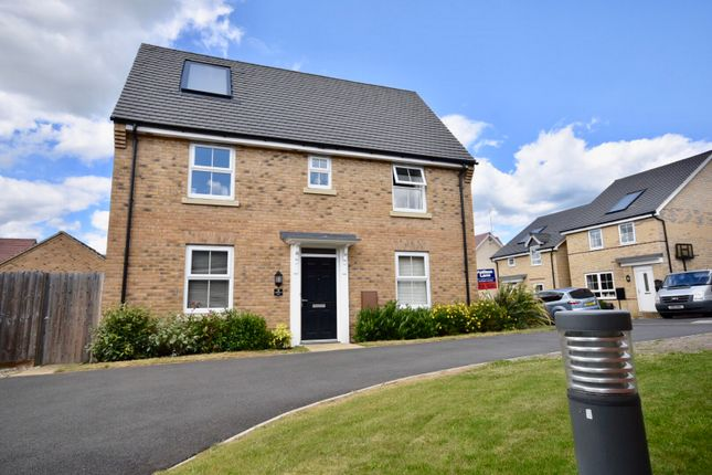 Thumbnail Link-detached house for sale in Silverstone Road, Burton Latimer, Kettering