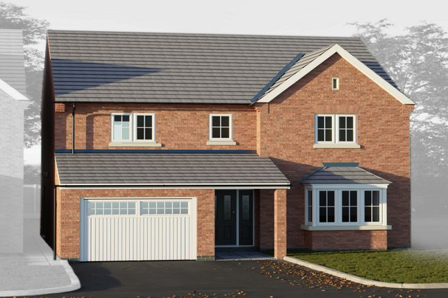 Thumbnail Detached house for sale in Thorpe Downs Road, Church Gresley