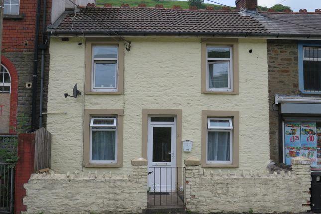 Thumbnail Terraced house for sale in Station Terrace, Brithdir, New Tredegar