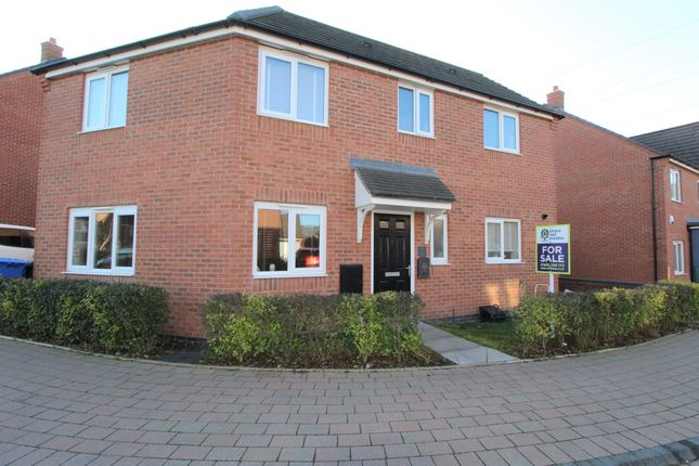 3 bed detached house for sale in Bagnall Way, Hawksyard Estate, Rugeley WS15