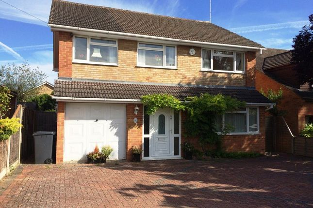 Thumbnail Detached house to rent in Macdonald Road, Lightwater