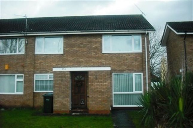 Thumbnail Maisonette to rent in Woodway Lane, Walsgrave, Coventry