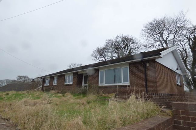 Thumbnail Bungalow to rent in Llanybydder