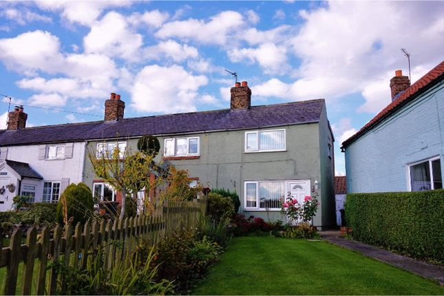 End terrace house for sale in Chapel Street, Cattal