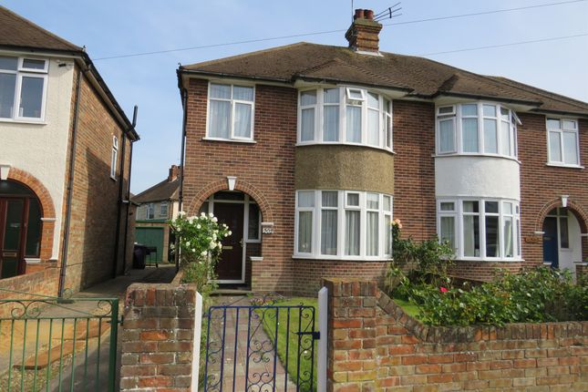 Thumbnail Semi-detached house for sale in Brunswick Road, Ipswich