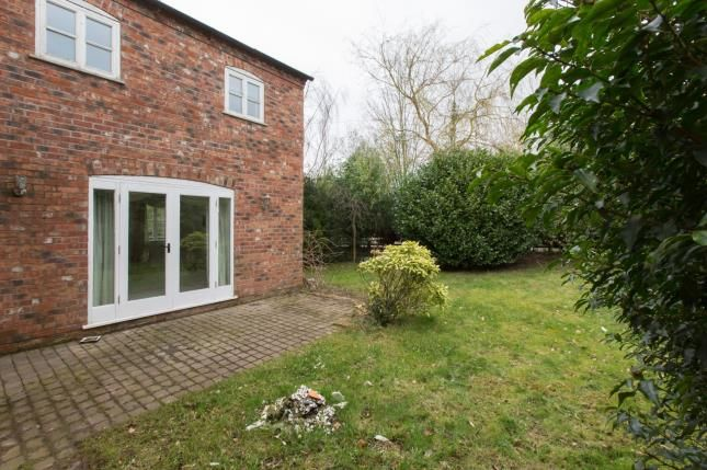 Garden of Congleton Road, Sandbach, Cheshire CW11