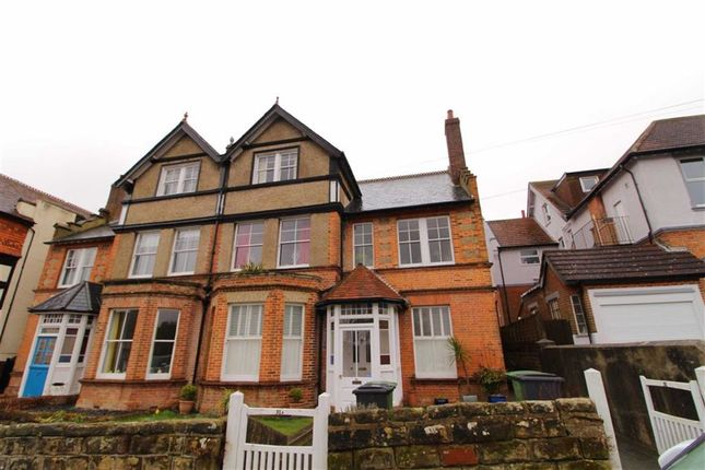 Thumbnail Maisonette for sale in Tower Road West, St Leonards-On-Sea, East Sussex