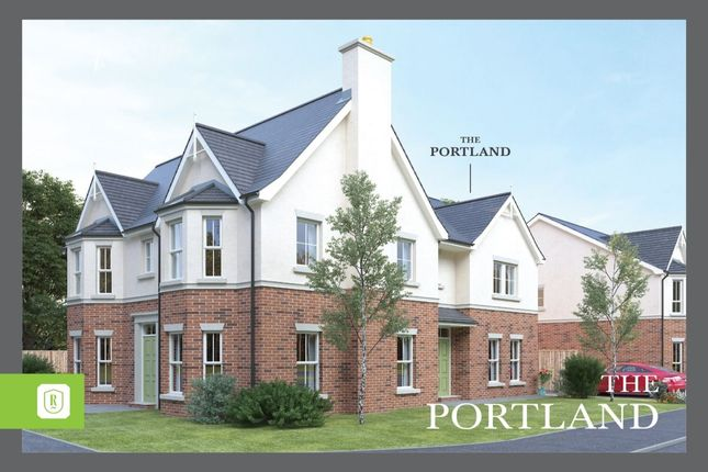 Thumbnail Semi-detached house for sale in Rowanvale, Green Road, Bangor