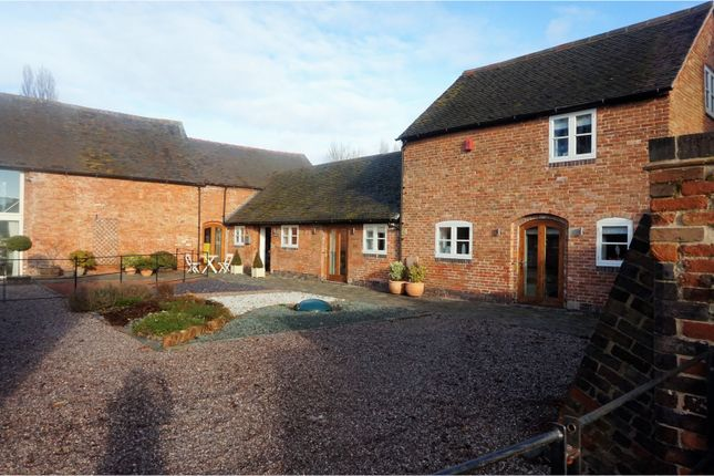 Thumbnail Barn conversion for sale in Ashby Road, Tamworth