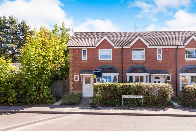 2 bed end terrace house to rent in Attwood Drive, Arborfield, Reading RG2