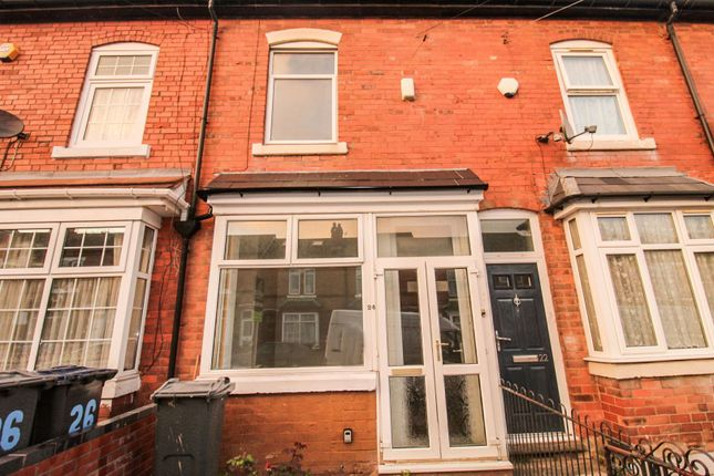 3 bed terraced house for sale in Aylesford Road, Handsworth, Birmingham B21