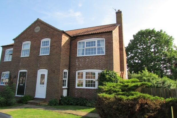 Thumbnail Property to rent in Middlefield Close, Weaverthorpe, Malton