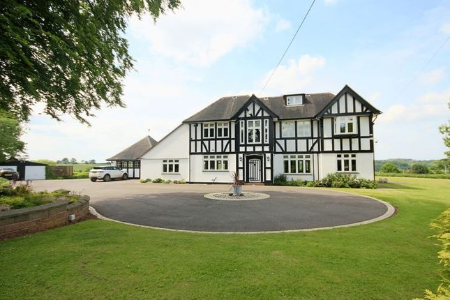 Thumbnail Detached house for sale in Butterton, Newcastle-Under-Lyme