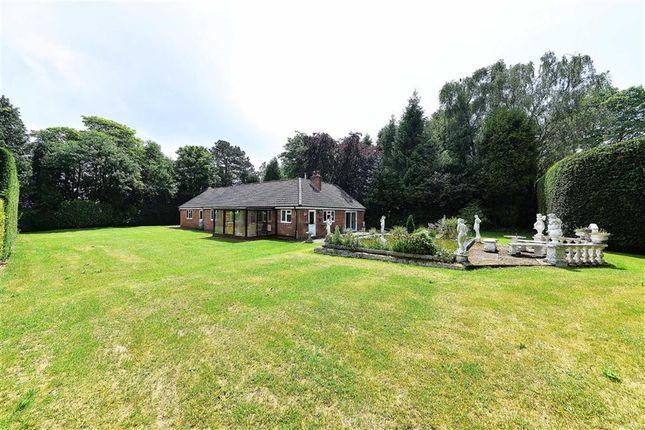 Thumbnail Detached bungalow for sale in Endwood Drive, Little Aston Park, Sutton Coldfield
