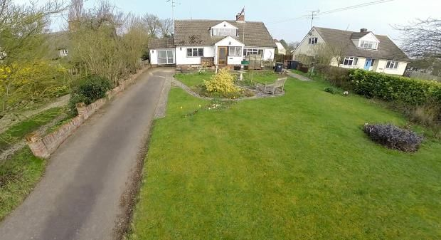 Thumbnail Detached house for sale in Monks Corner, Great Sampford, Saffron Walden, Essex