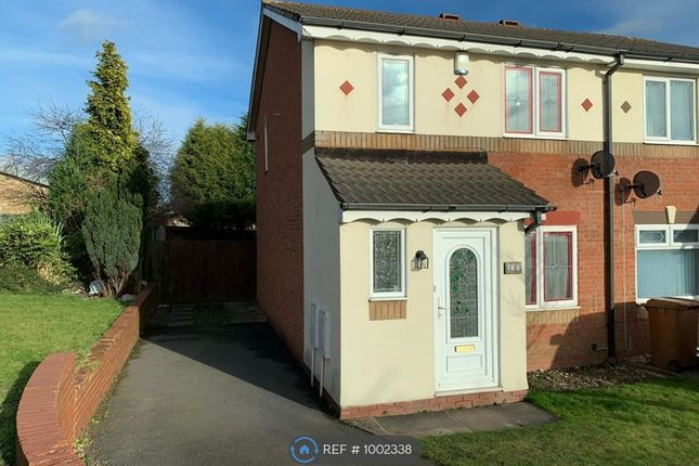Thumbnail Semi-detached house to rent in Wenlock Gardens, Walsall
