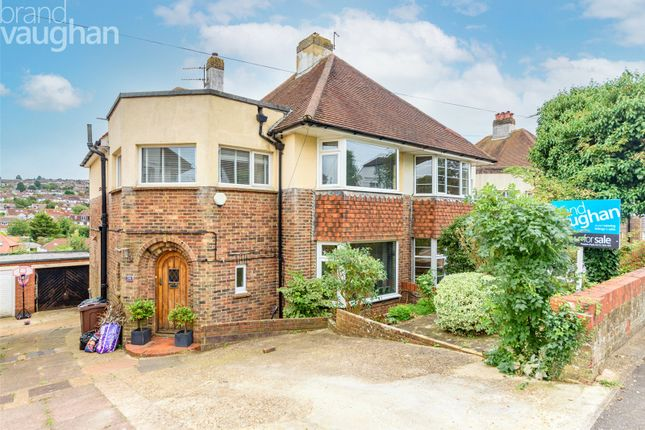 3 bed semi-detached house for sale in Overhill Drive, Brighton BN1