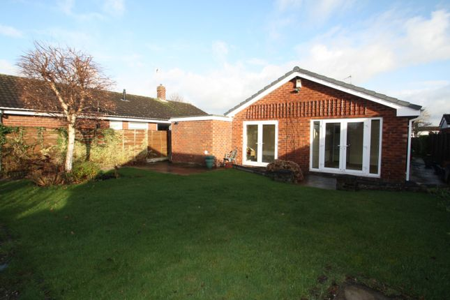 Thumbnail Detached bungalow to rent in 1 Hewitt Grove, Wincham, Northwich, Cheshire