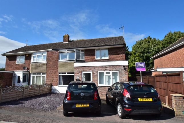Thumbnail Semi-detached house for sale in Rivermead Close, Longford