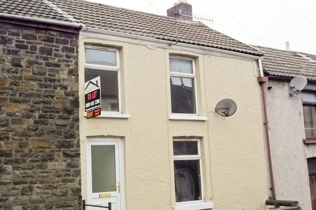2 bed terraced house to rent in Penygraig -, Tonypandy CF40