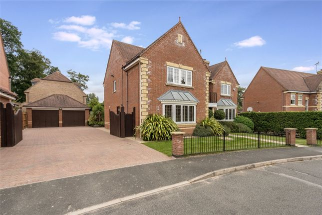 Thumbnail Detached house for sale in Woodlands Close, Oadby, Leicester, Leicestershire