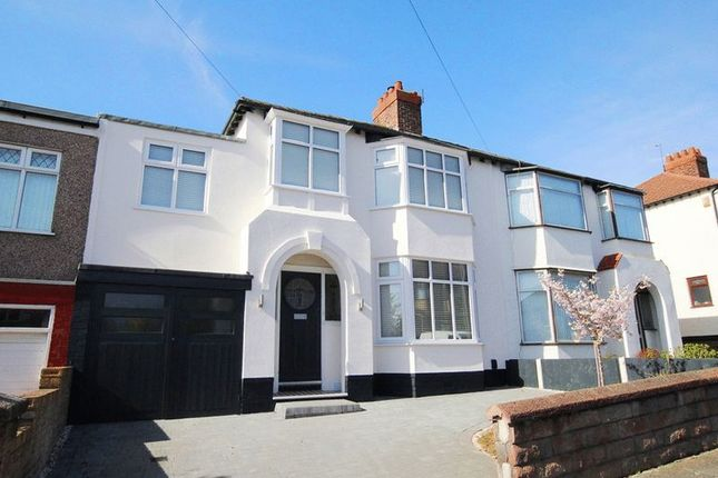 Thumbnail Semi-detached house for sale in Cheyne Gardens, Aigburth, Liverpool