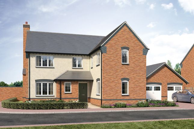 Thumbnail Detached house for sale in Sparrowhawk Way, Telford