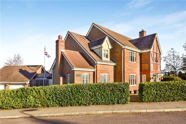 Thumbnail Detached house for sale in Ramsdell Road, Fleet, Hampshire