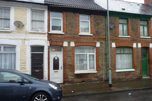 Thumbnail Flat for sale in Treharris Street, Roath Cardiff