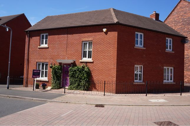 Thumbnail Detached house for sale in Ryder Drive, Muxton Telford