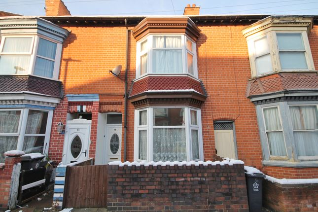 3 bed terraced house to rent in Bramley Road, West End, Leicester LE3
