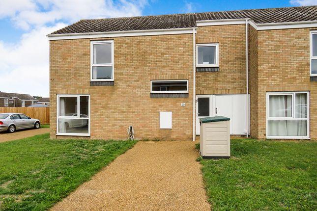 Thumbnail End terrace house to rent in Sycamore Walk, RAF Lakenheath, Brandon