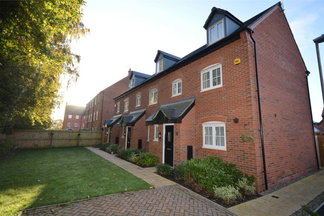 Thumbnail End terrace house for sale in Delamere Court, Delamere Avenue, Eastham, Wirral