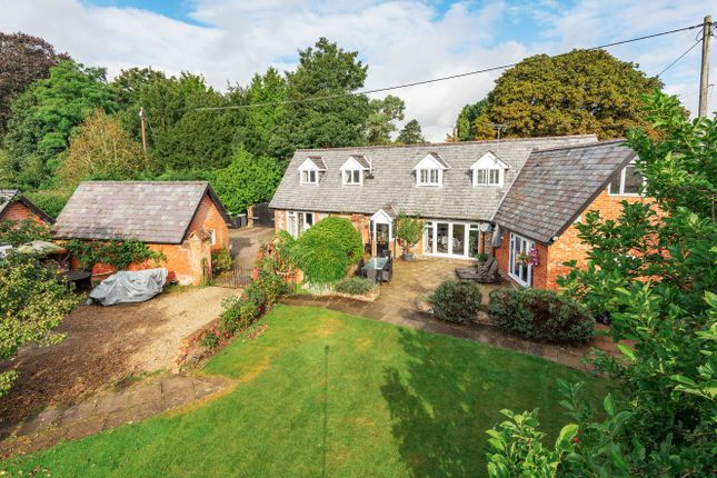Thumbnail Detached house for sale in London Road, Headbourne Worthy, Winchester, Hampshire